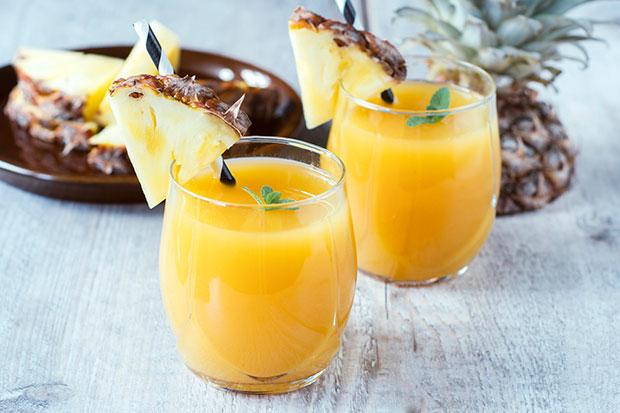น้ำสับปะรดมีประสิทธิภาพมากกว่ายาแก้ไอถึง 5 เท่า