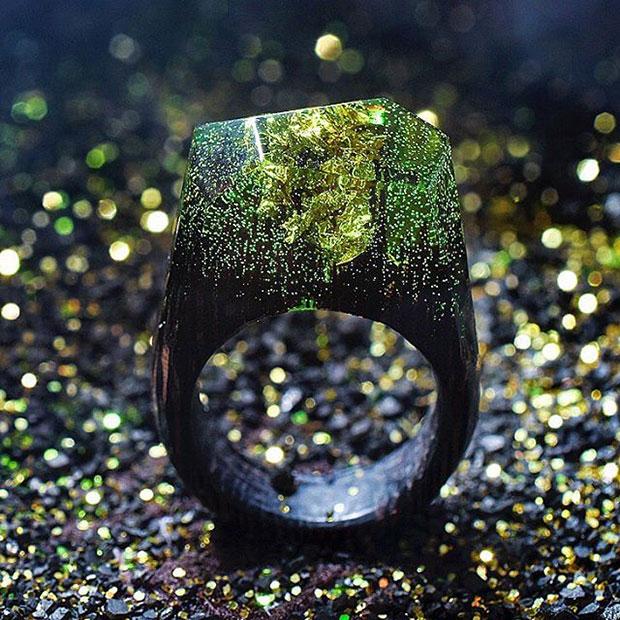 ย่อโลกใบจิ๋วสู่แหวนไม้ ความสวยสะกดใจตามฤดูกาล