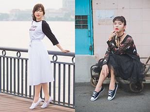รองเท้าผ้าใบ Converse All Star Ballet Lace