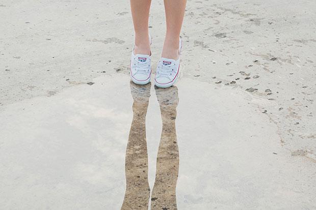 รองเท้า Converse บัลเล่ต์