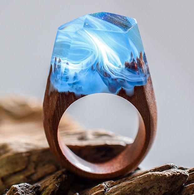 แหวนทำจากไม้
