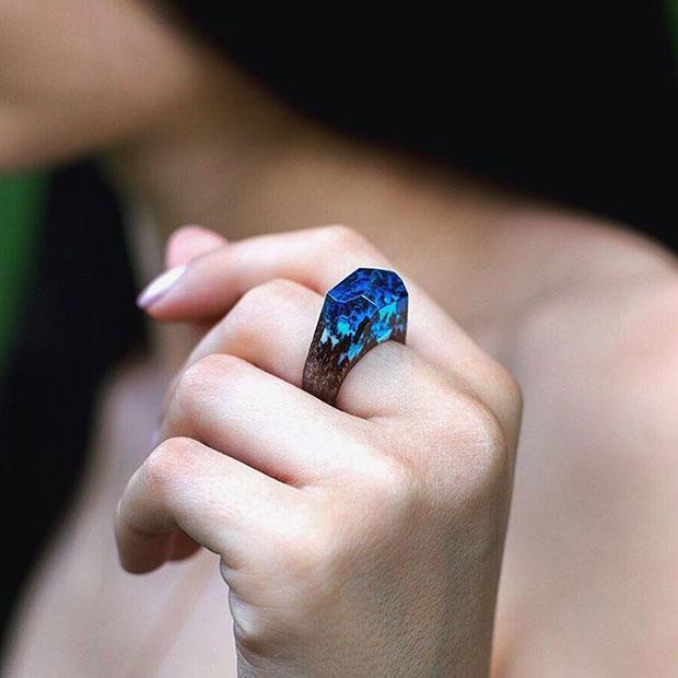แหวนไม้ ธรรมชาติ