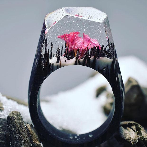 แหวนไม้