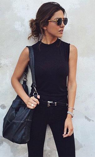 ไอเดียการใส่ชุดดำในชีวิตประจำวันในช่วงไว้อาลัย