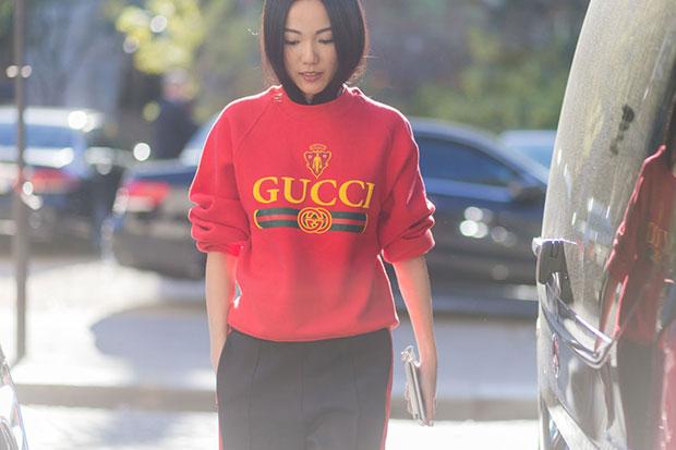 Gucci ออกแบบมาเหมือนของปลอมมากกว่าของแท้