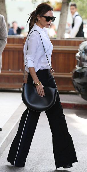 Victoria Beckham กางเกงขาบาน