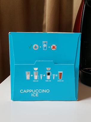 กาแฟ Cappuccino Ice