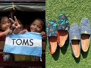 ข้อเท็จจริงและเรื่องราวดีๆของรองเท้า TOMS
