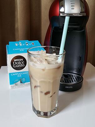 ชงกาแฟ Cappuccino Ice
