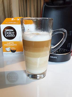 ชงกาแฟ Latte Macchiato