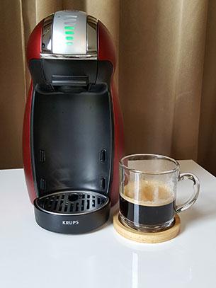 ชงกาแฟ Lungo