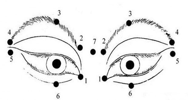 ผ่อนคลายกล้ามเนื้อตาโดยการนวดเป็นวงกลมเบาๆ