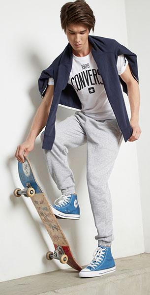 รองเท้า Converse สี Ocean Blue