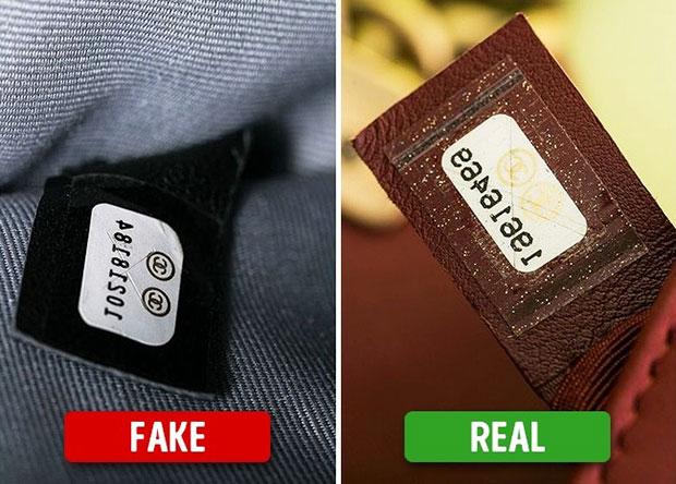 วิธีสังเกตหมายเลขประจำกระเป๋าแบรนด์เนมปลอมป