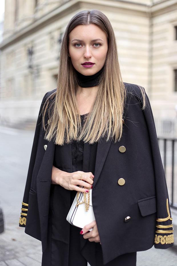 เสื้อสูท Storets, เสื้อ Comptoir des Cotonniers, กางเกง Zara, รองเท้า & Other Stories, กระเป๋า Lanvin