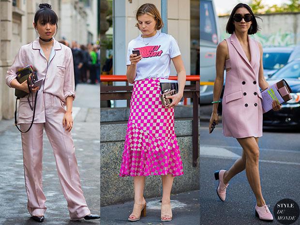 แฟชั่นสตรีทกับสีที่กำลังมาแรงประจำปี 2016