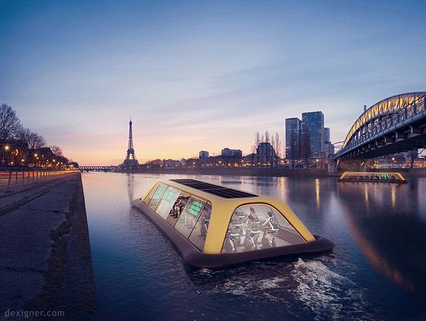 โรงยิมลอยน้ำแห่งแรกของปารีส