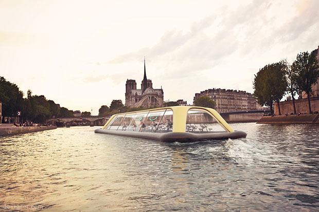 โรงยิมลอยน้ำแห่งแรกในปารีส