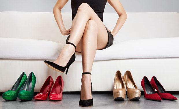 ใส่รองเท้าส้นสูงจะทำให้เซ็กซี่มากขึ้น