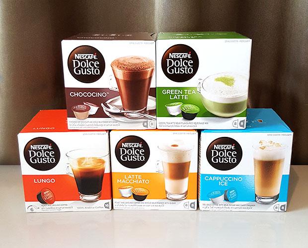 Latte Macchiato, Lungo, Cappuccino Ice, Green Tea Latte, Chococino