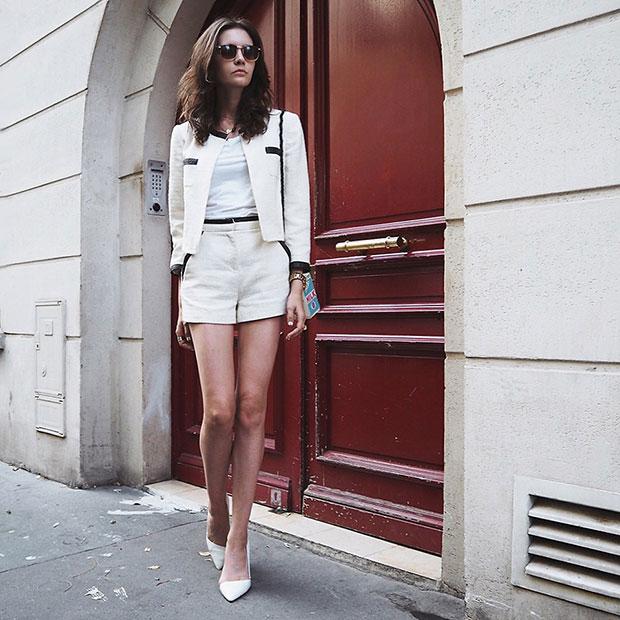 Peserico T Shirt, Zara Heels, Olympia Le Tan Bag, Asos Sunglasses