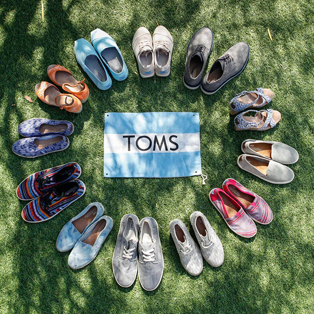TOMS ช่วยเหลือเด็กยากไร้