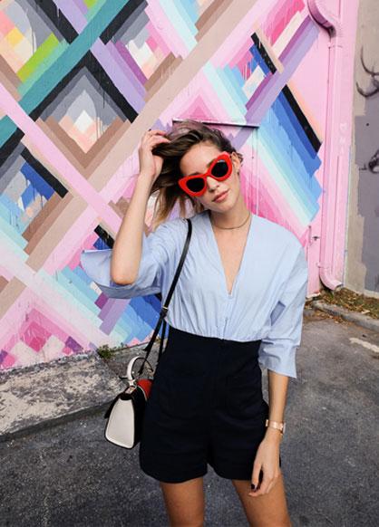 Zara Playsuit, Zara Bag, Zaful Sunglasses, Rosefield Watch, River Island Choker
