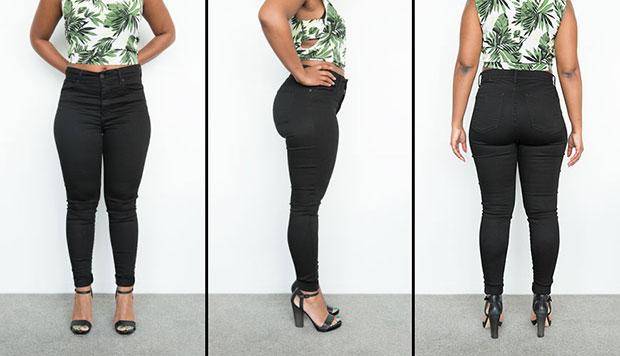 กางเกงยีนส์ทรงสกินนี่เอวสูง High Rise Skinny ของ Mott & Bow