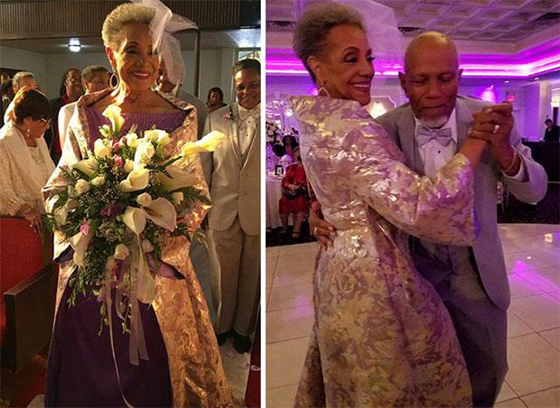คุณย่าวัย 86 ปีแต่งงาน