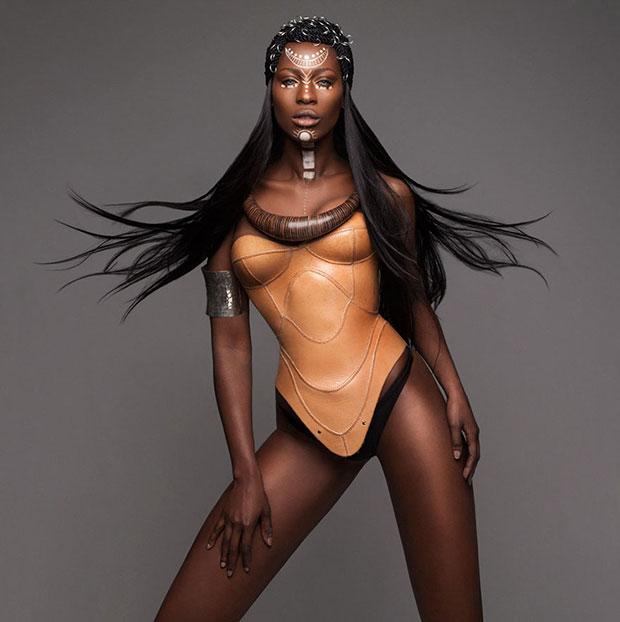 ทรงผมยอดเยี่ยม ทรงผม Afro