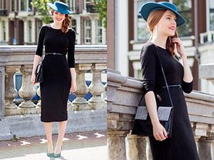 เดรส H&M, รองเท้า Sacha, หมวก Vintage, กระเป๋า Vintage, เข็มขัด H&M