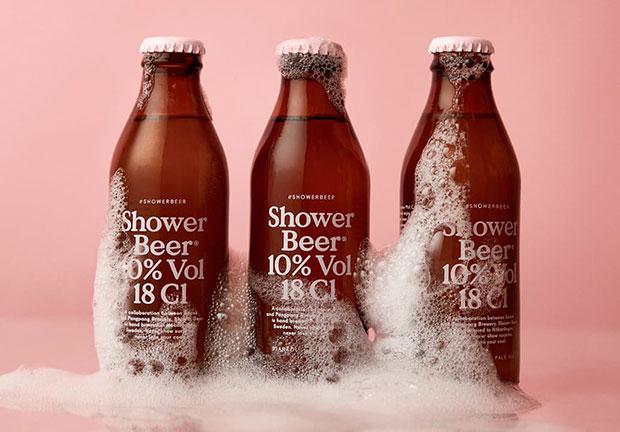 เปิดตัวเบียร์ที่สามารถดื่มระหว่างอาบน้ำได้โดยเฉพาะ