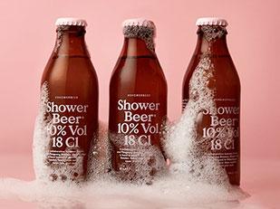 เปิดตัวเบียร์ที่สามารถดื่มระหว่างอาบน้ำได้