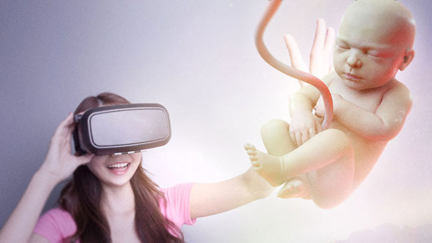 แว่น VR ที่ทำให้มองเห็นลูกน้อยในครรภ์