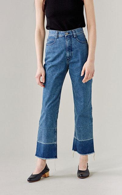 กางเกงยีนส์ Slim Legion ของ Rachel Comey