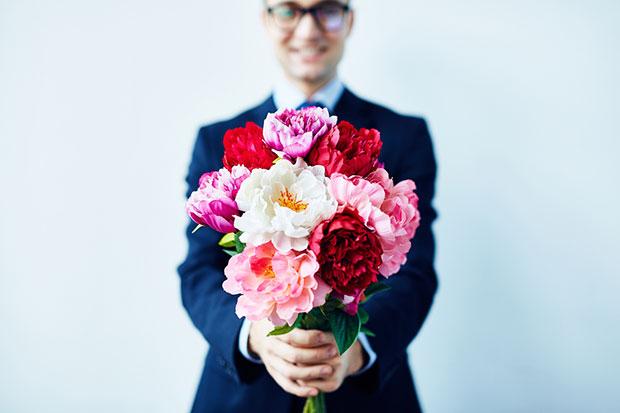 ของขวัญวันวาเลนไทน์ ช่อดอกไม้