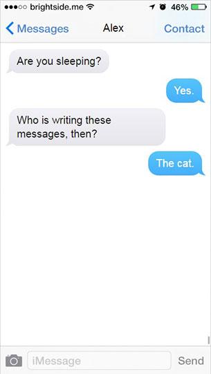 บทสนทนากวนๆ