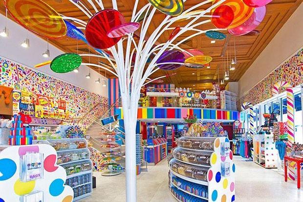 ร้านขนมหวาน Candy Bar ของดีแลน ไมอามี่