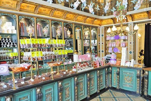 ร้านขนมหวาน Meert ลีล ฝรั่งเศส
