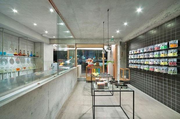 ร้านขนมหวาน Papabubble โยโกฮามา ญี่ปุ่น