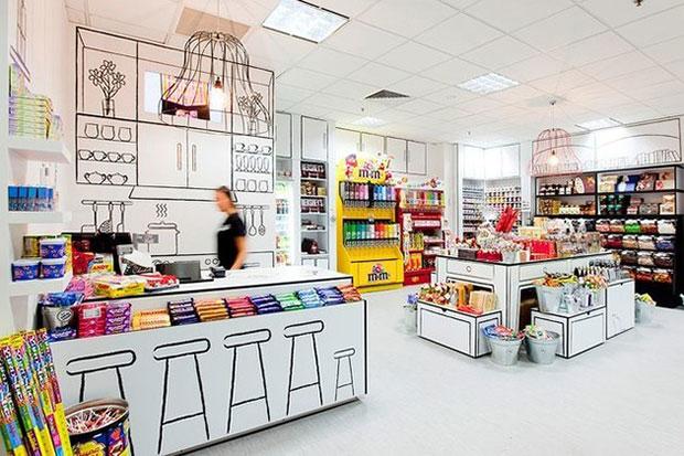 ร้านขนมหวาน The Candy Room เมลเบิร์น ออสเตรเลีย