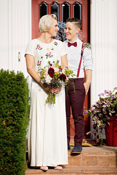 สถานที่จัดงานแต่งงานที่ดีที่สุดคือบ้านของเขาเอง