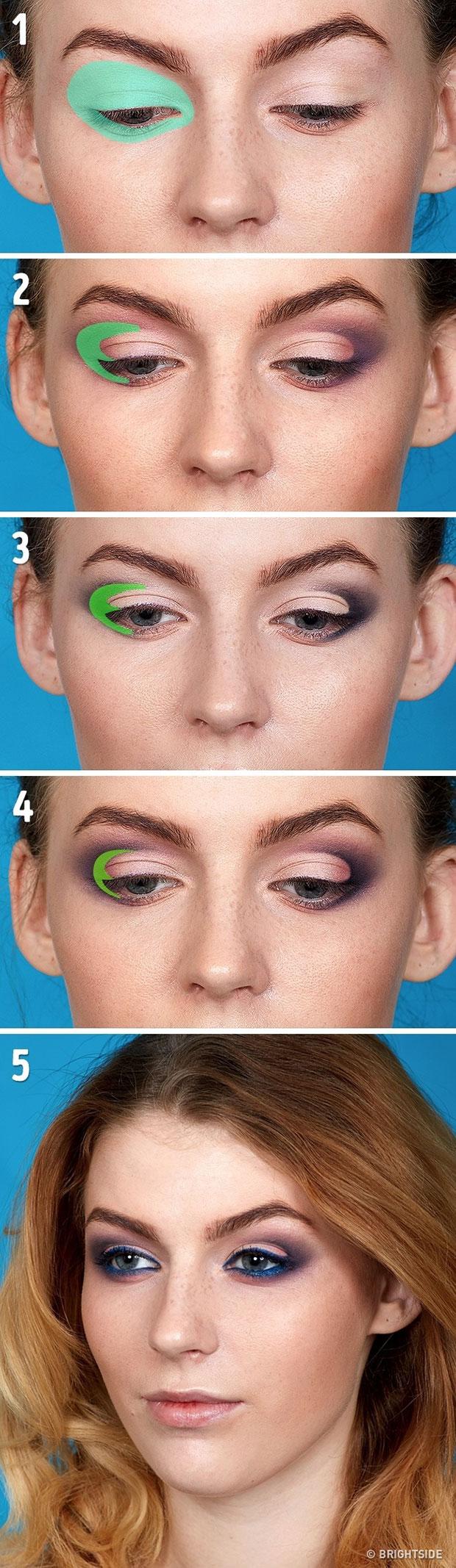 เทคนิคการแต่งตาด้วยดินสอเขียนขอบตา