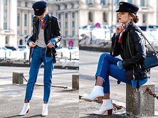 แจ็คเก็ต Zara, เสื้อเชิ้ตยีนส์ C&A, เสื้อ Asos, รองเท้าบู๊ท Zara, กางเกงยีนส์ H&M, กระเป๋า Furla