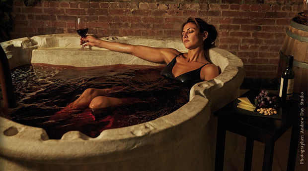 แช่ไวน์แดง
