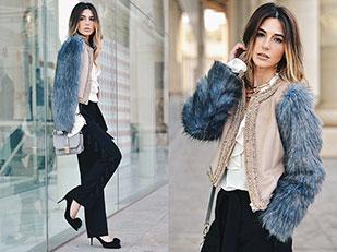 กางเกง Zara, แจ็คเก็ต Apparentia, รองเท้า La Mar De Lunares
