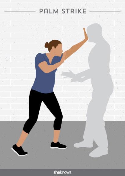 การป้องกันตัวสำหรับผู้หญิง