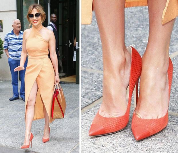 คนดังนิยมสวมรองเท้าใหญ่กว่าเท้าจริง