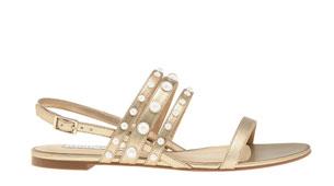 รองเท้าสีทอง Charles & Keith