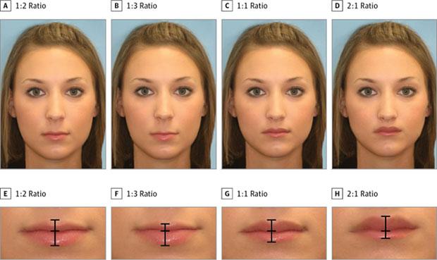 ริมฝีปากแบบไหนของผู้หญิงที่มีเสน่ห์มากที่สุดตามหลักวิทยาศาสตร์